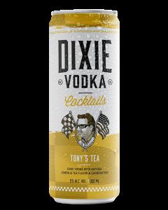 DIXIE VODKA COCKTAILS TONY'S TEA - 4 PACK